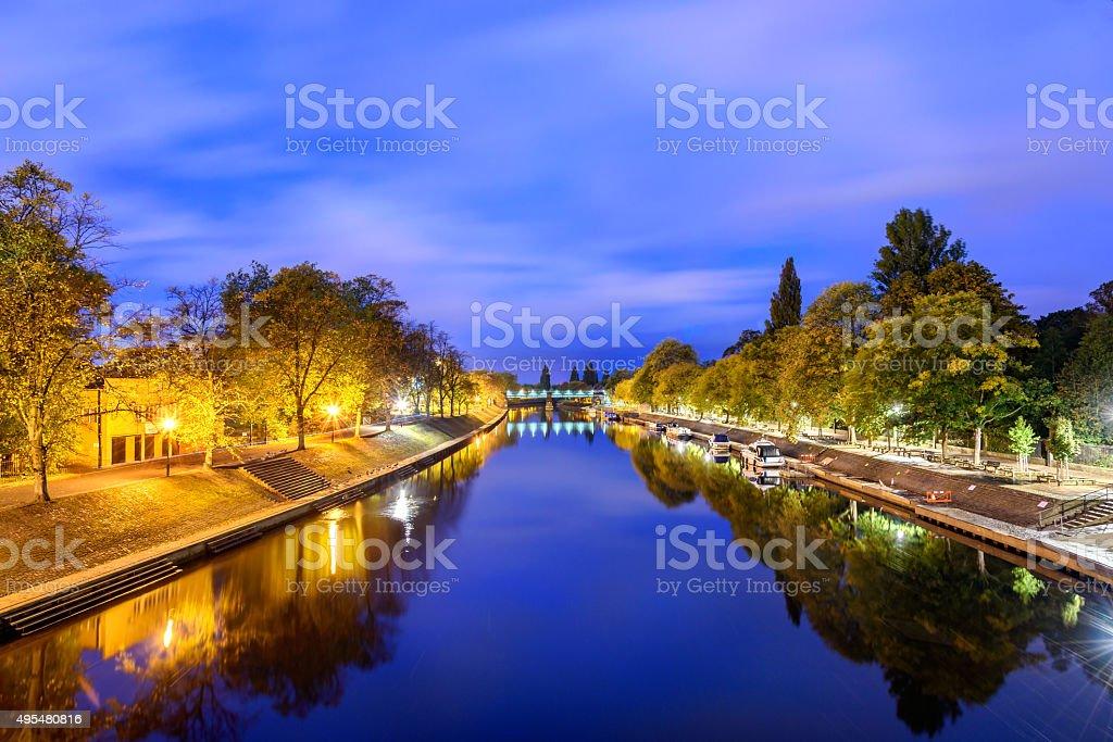 River Ouse York UK stock photo