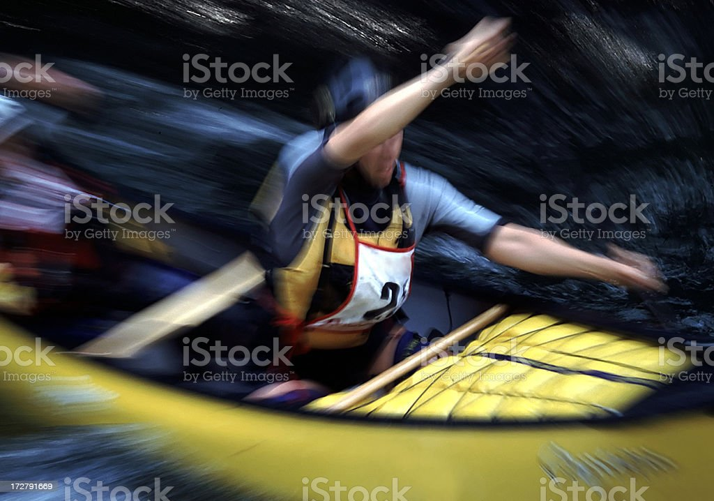 River Paddle stock photo
