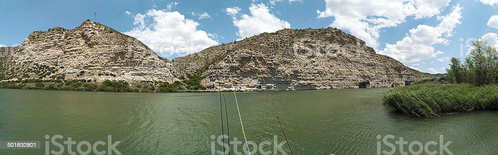 River Panoramic royalty-free stock photo