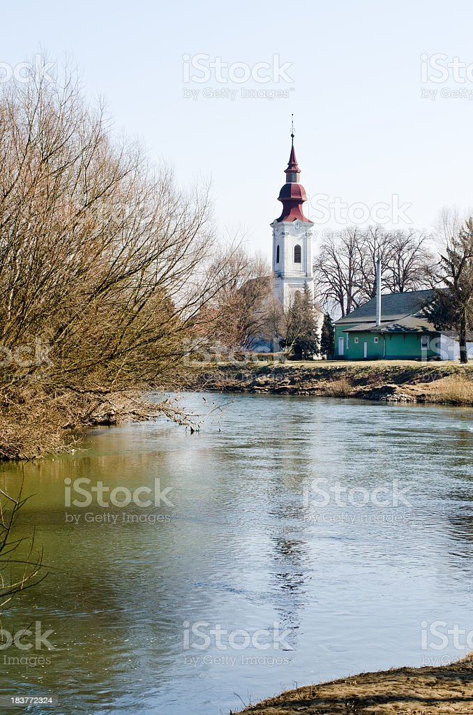 River royalty-free stock photo