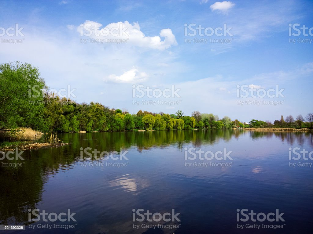 River. stock photo