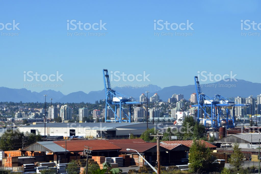 River Port royalty-free stock photo