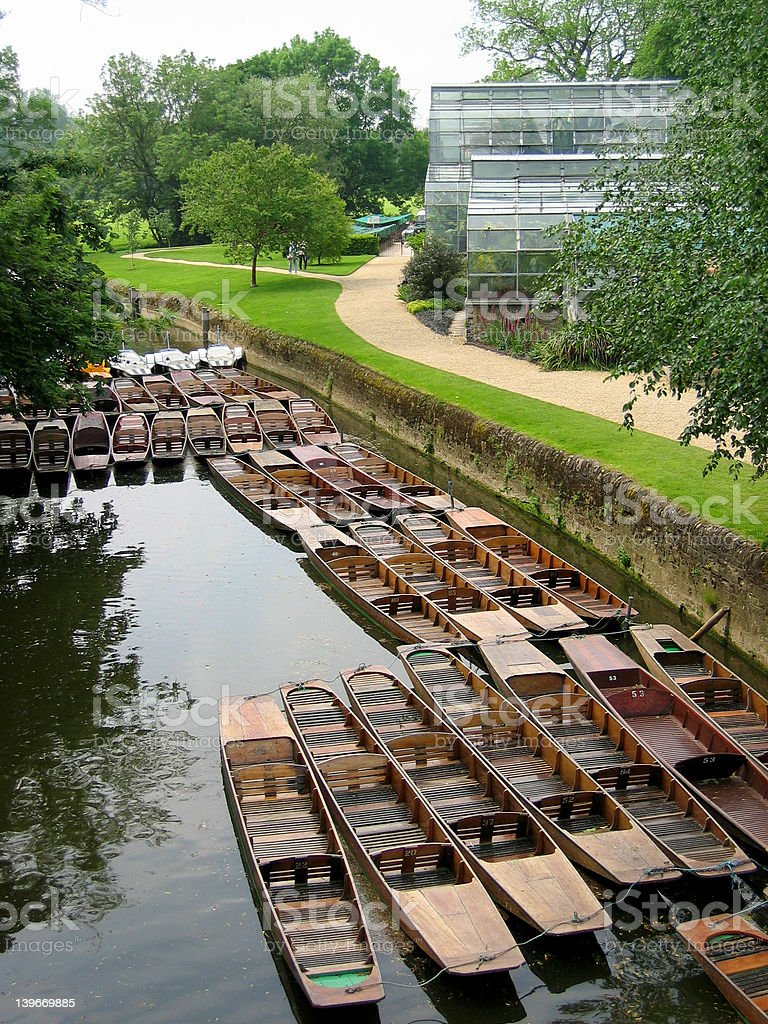 River Punts stock photo