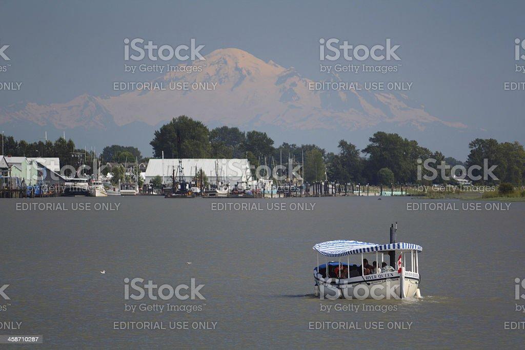 River Queen, Harbor Tour, Steveston stock photo