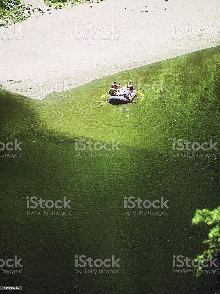 river rafting #6 royalty-free stock photo