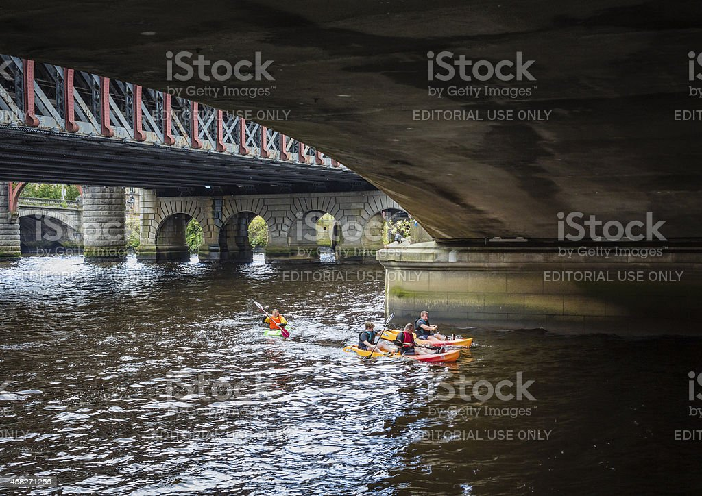 River Rat Race, Glasgow royalty-free stock photo