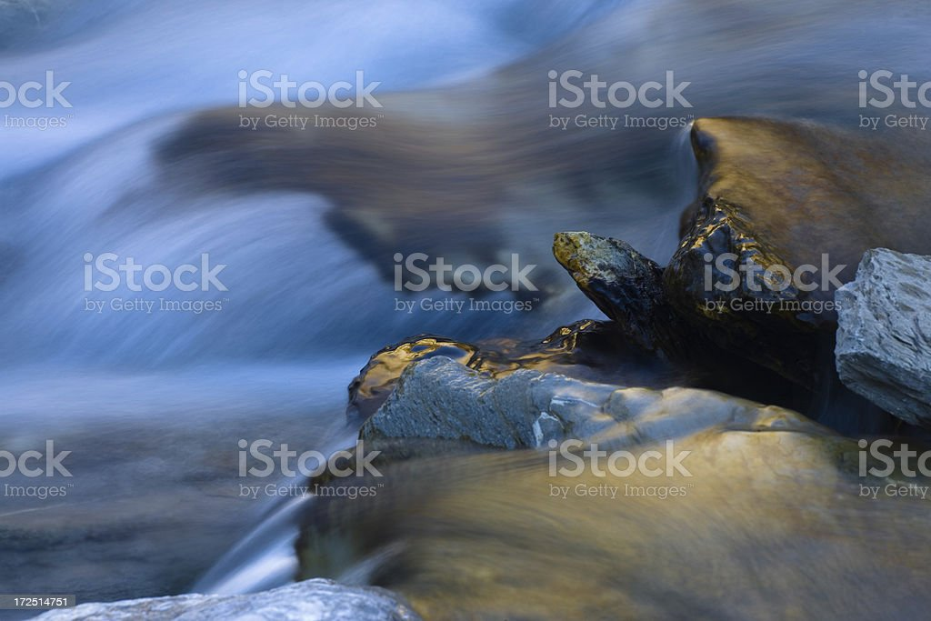 river refeflection royalty-free stock photo