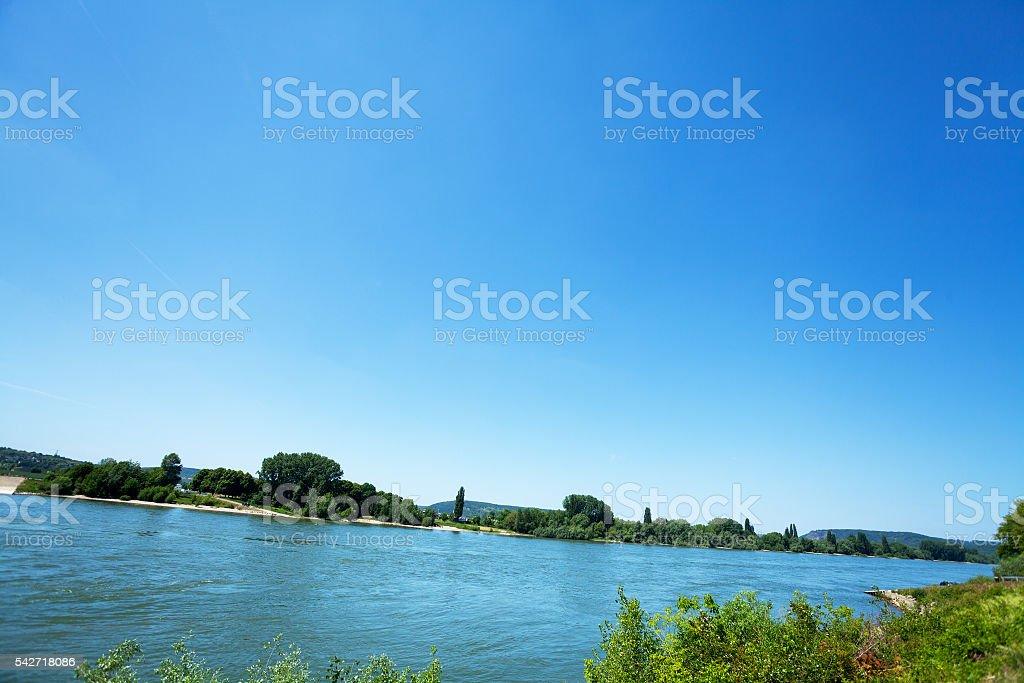 River Rhine stock photo