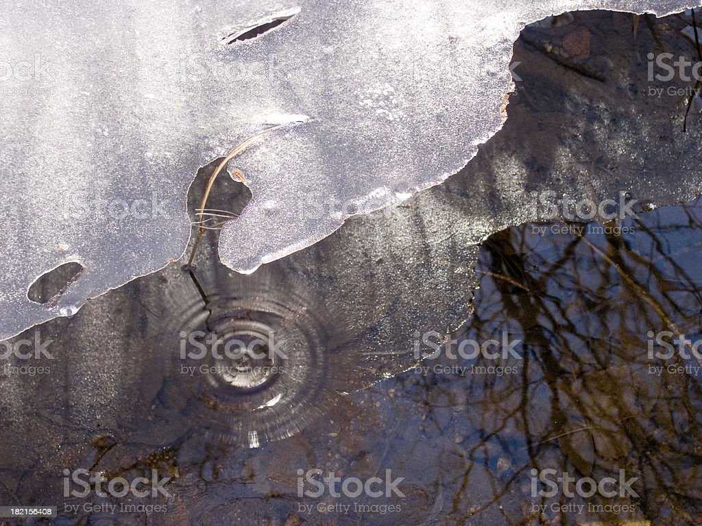 river ripples royalty-free stock photo
