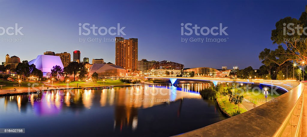 ADE river Rise 2 panorama stock photo