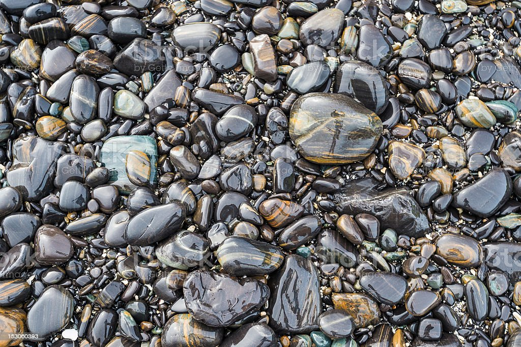 River rock royalty-free stock photo
