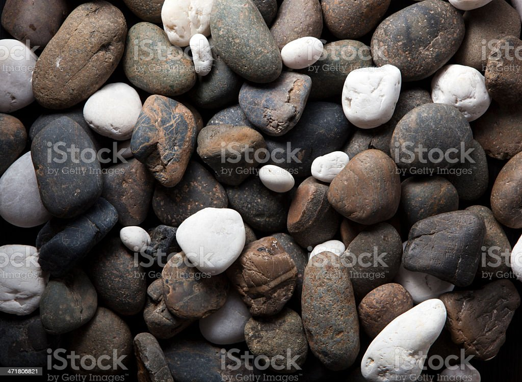 River rocks background royalty-free stock photo