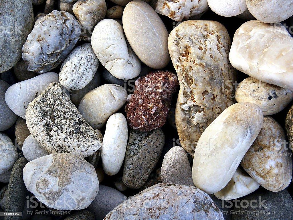 River rocks background royalty-free stock photo