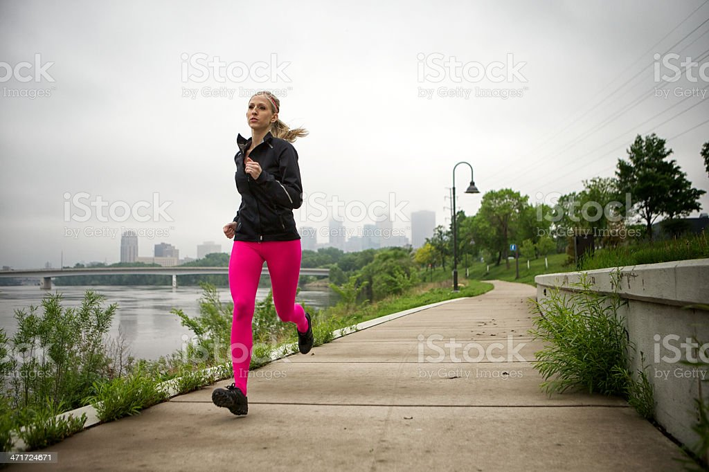 River runner royalty-free stock photo