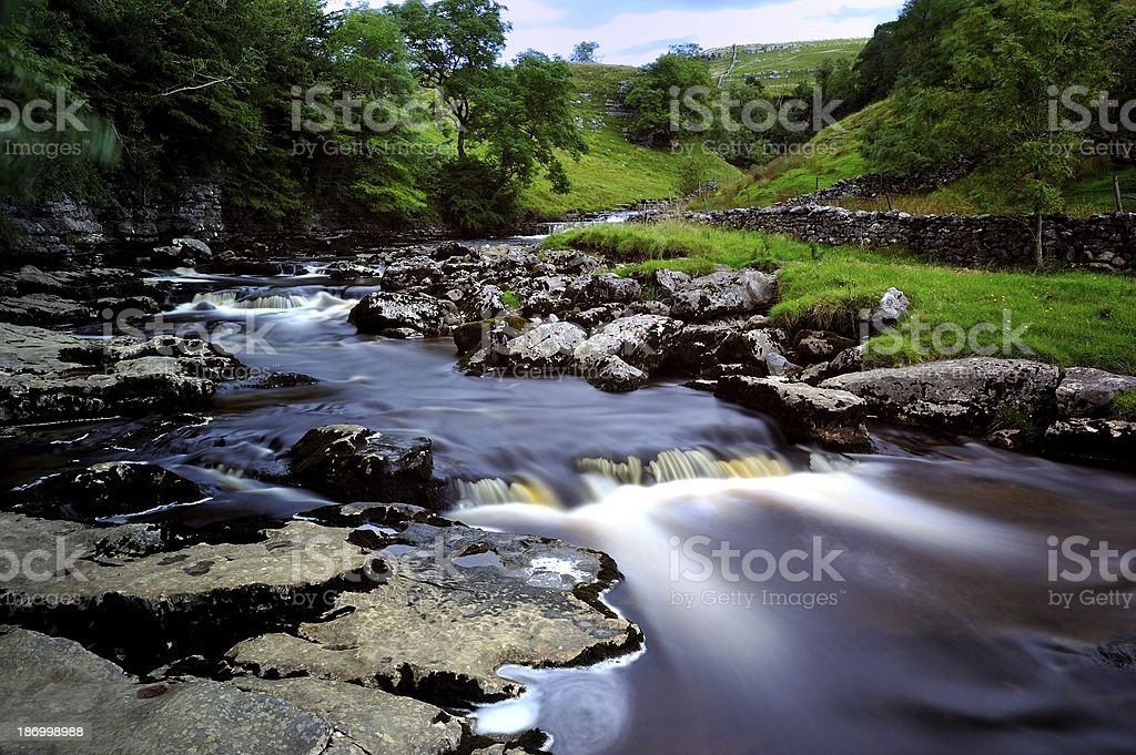 River Runs Though royalty-free stock photo