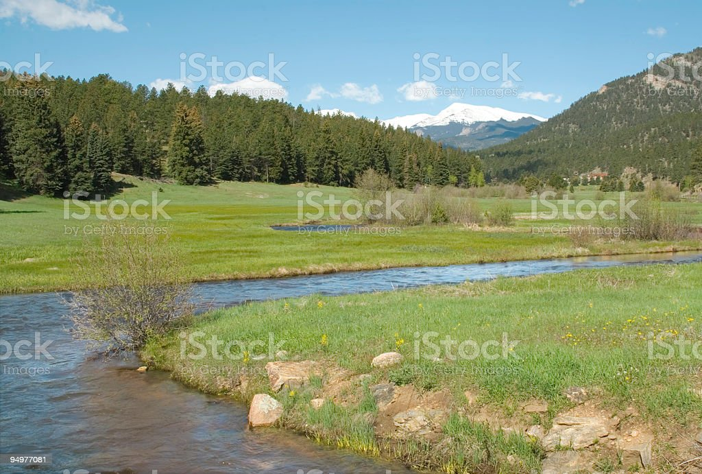River Runs Through It royalty-free stock photo