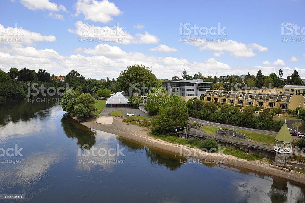 River scene. stock photo