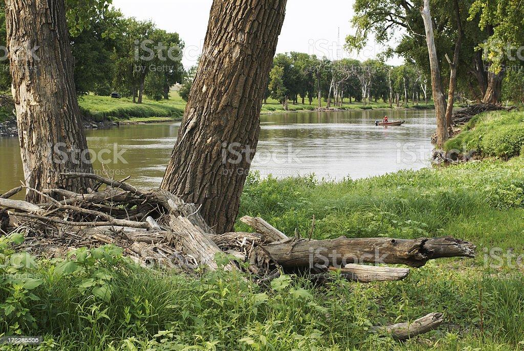 river scene royalty-free stock photo