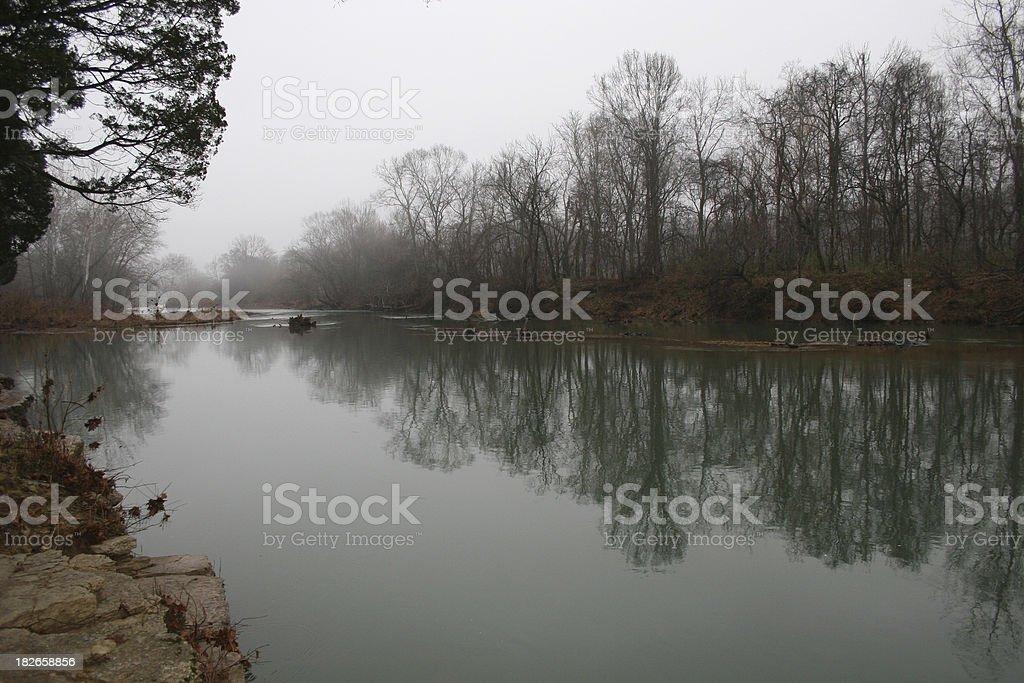 River Scenic stock photo