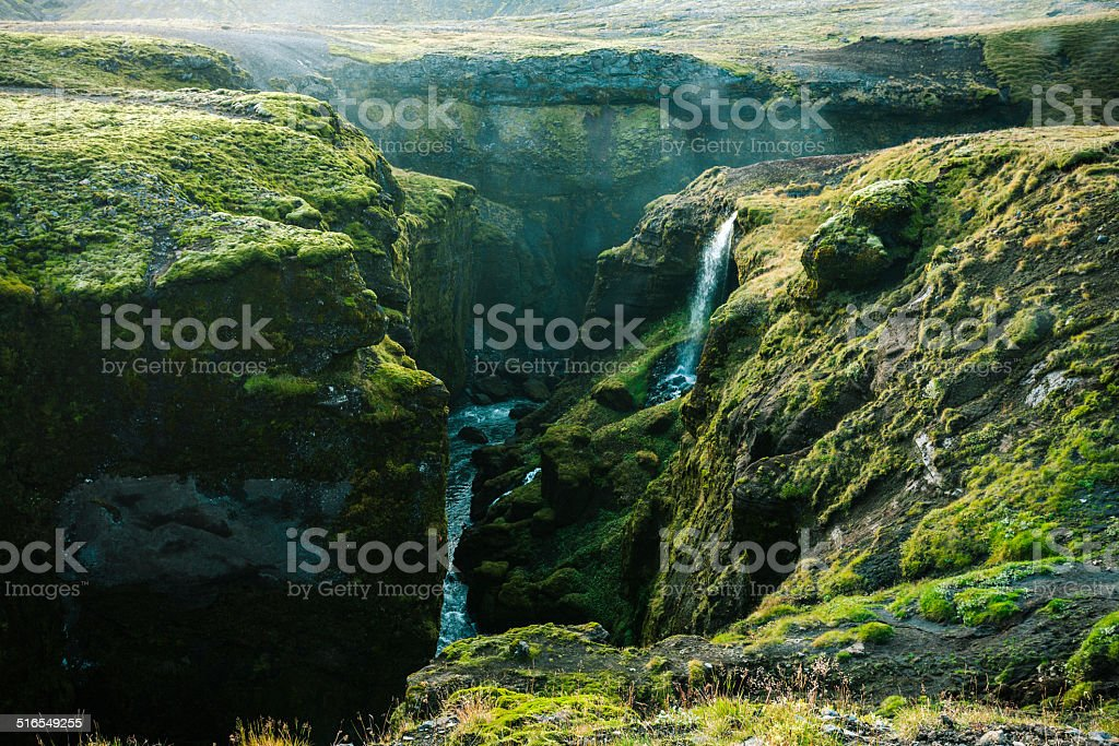 River Skoga stock photo