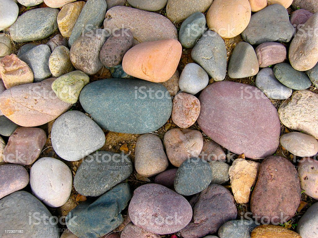 River Stone Background royalty-free stock photo
