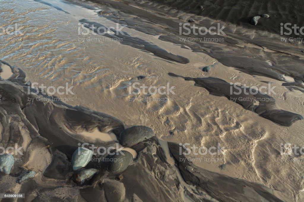 River Studenaya in morning. Kamchatka Peninsula stock photo