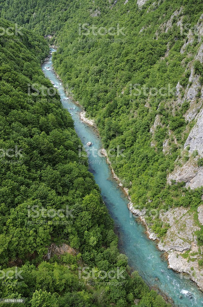 River Tara stock photo