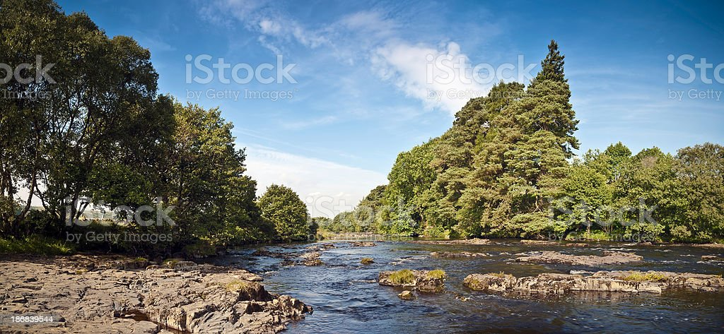 River Tees, Upper Teesdale Valley, Durham, UK stock photo