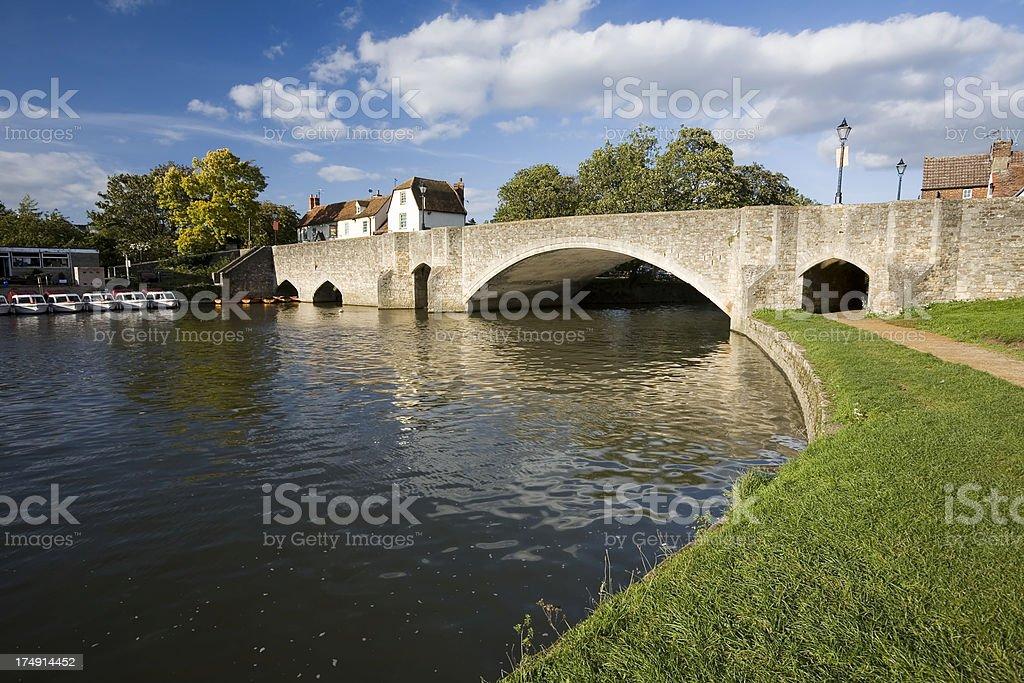 River Thames at Abingdon royalty-free stock photo