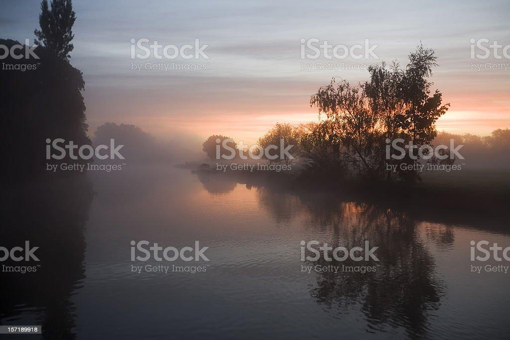 River Thames at Dawn royalty-free stock photo