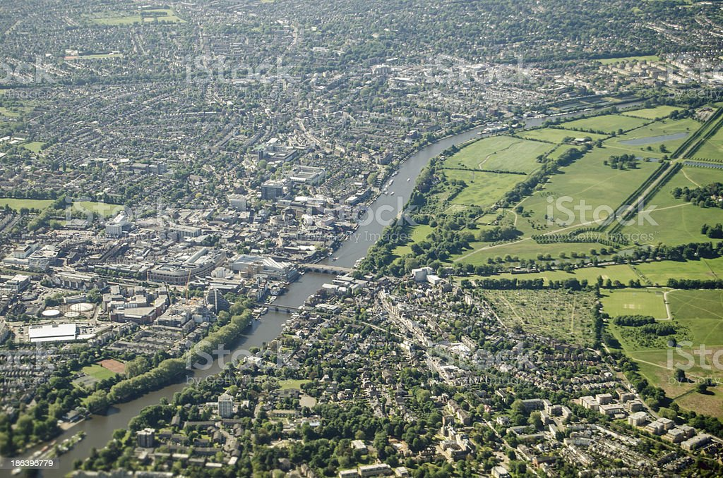 River Thames at Kingston stock photo