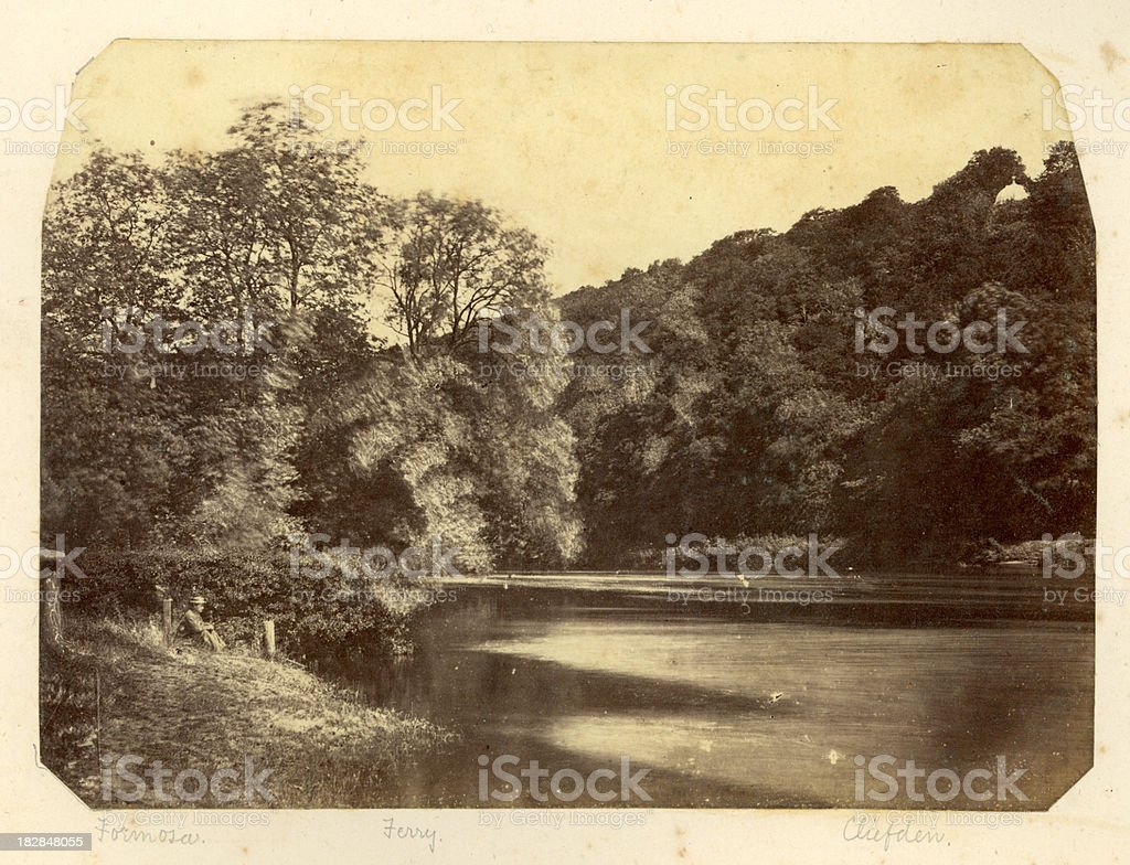 River Thames by Cliveden royalty-free stock photo