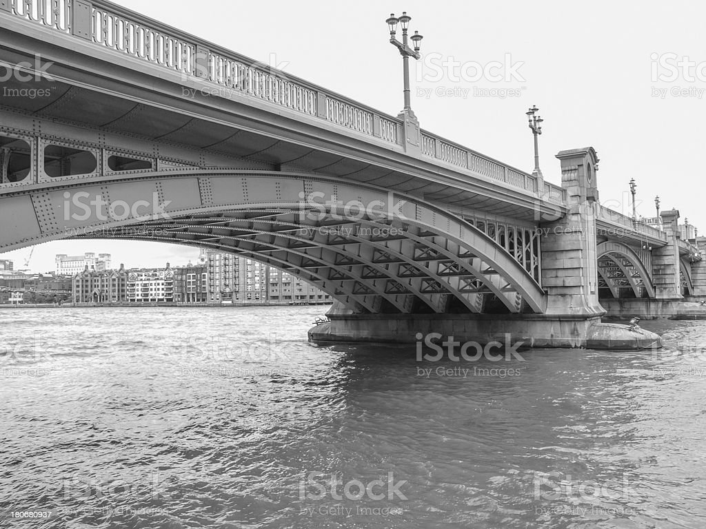 River Thames in London royalty-free stock photo