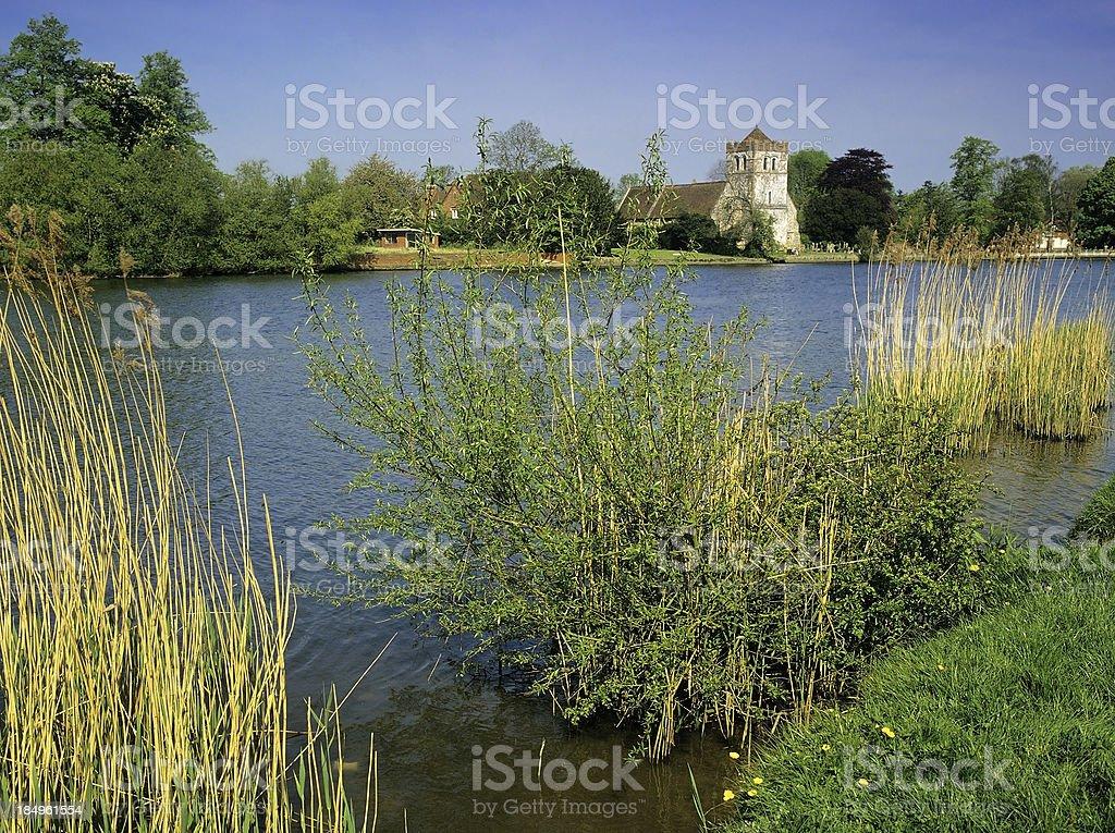 river thames royalty-free stock photo