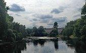 River to Buckingham palace