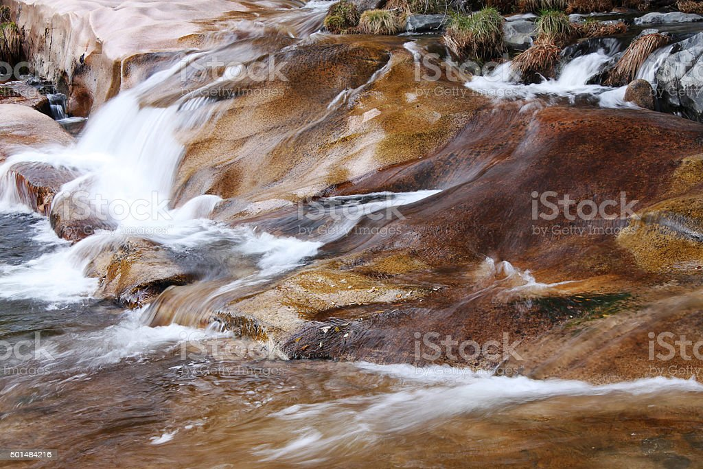torrente de rio stock photo