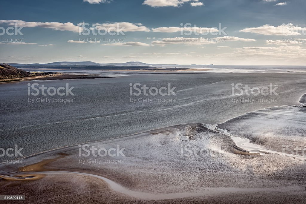 River Towy Carmarthenshire stock photo