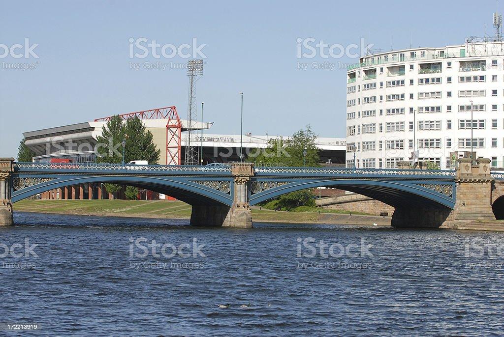 River Trent, Nottingham stock photo