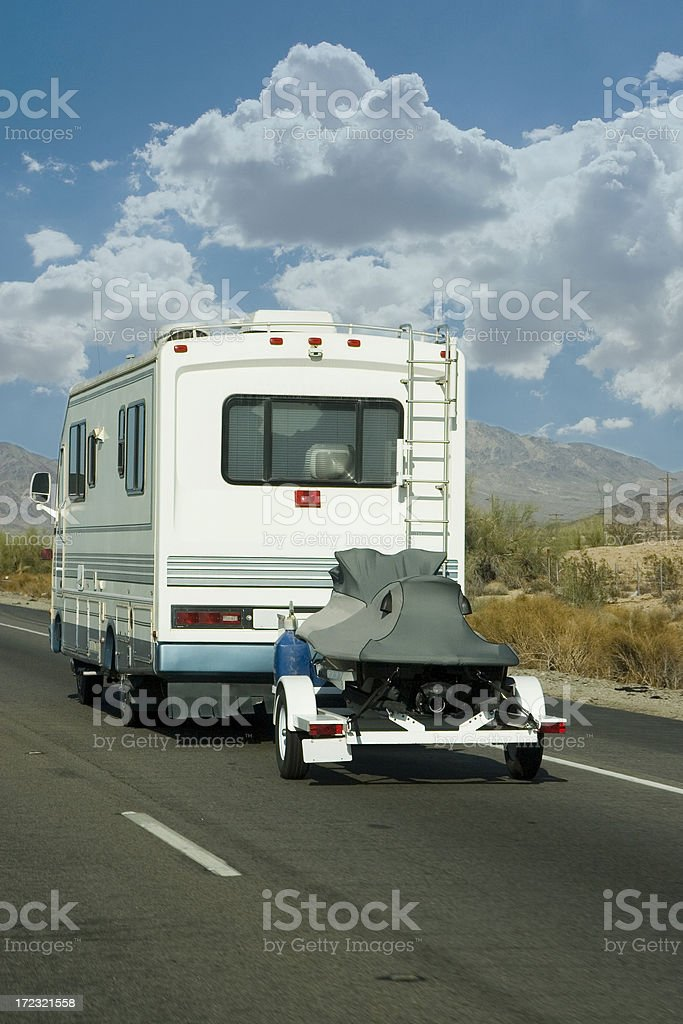 River Trip royalty-free stock photo