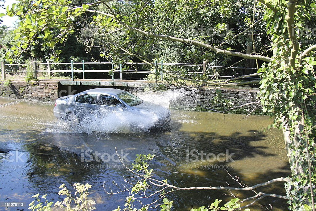 River Water Ford. royalty-free stock photo
