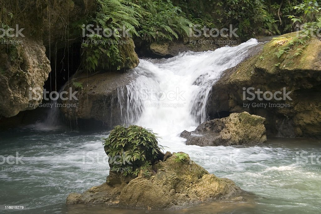 YS River Waterfall stock photo