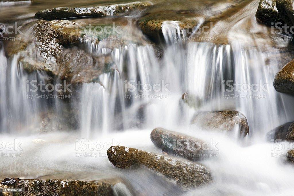 river waterfall royalty-free stock photo