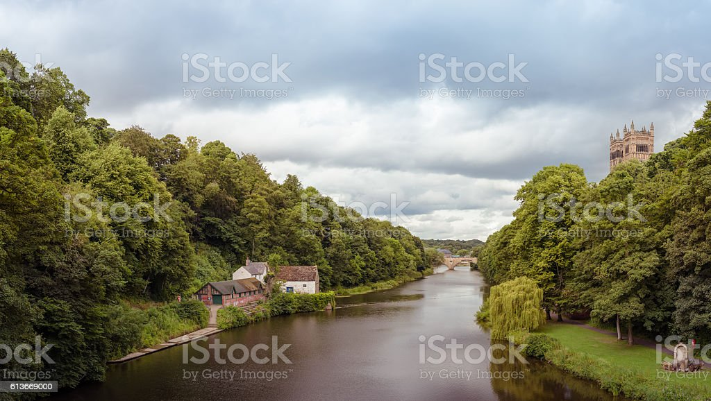 River Wear stock photo