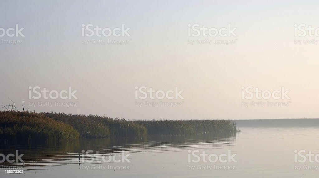 River winter stock photo