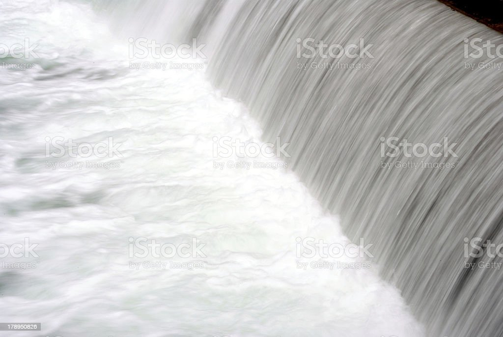 River with waterfall royalty-free stock photo