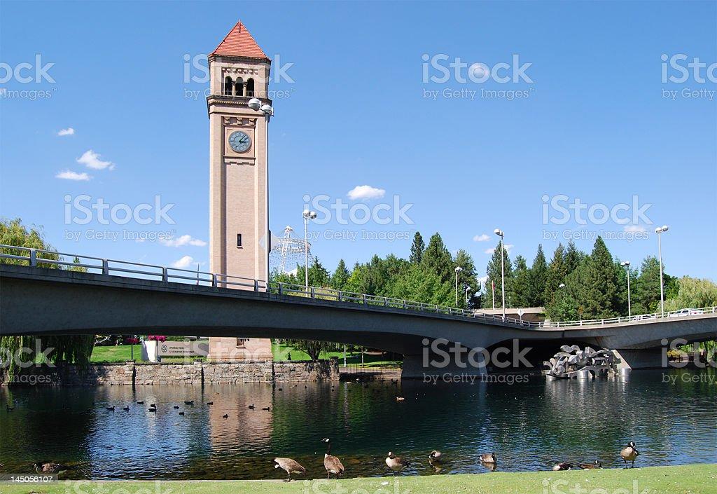 Riverfront Park - Spokane, WA stock photo
