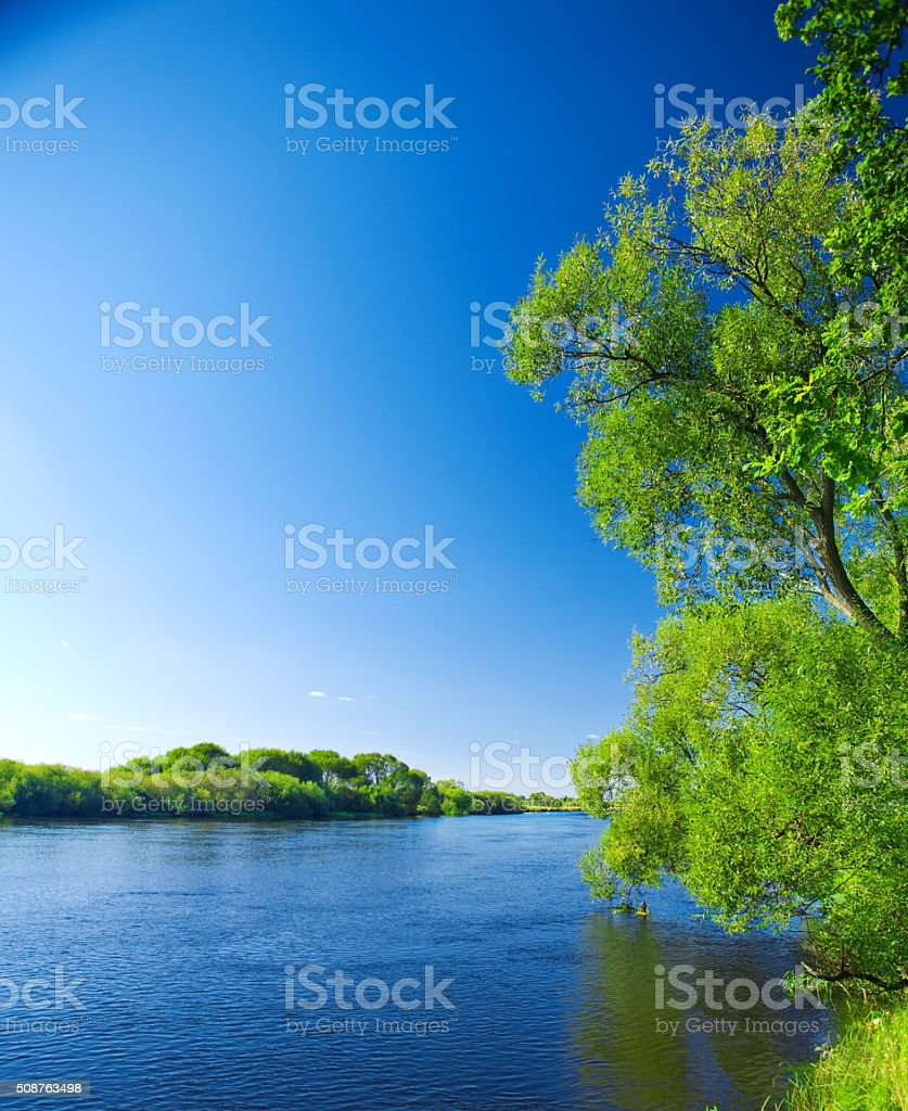 rivers nature stock photo