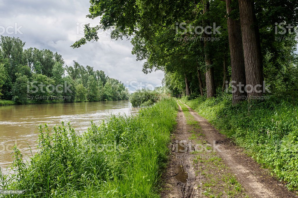 Riverscape stock photo