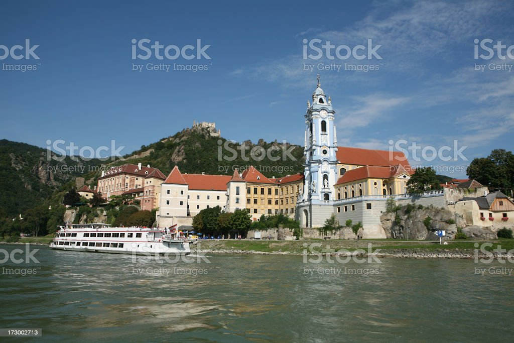 riverside abbey royalty-free stock photo