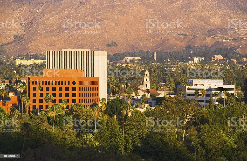 Riverside, CA downtown stock photo